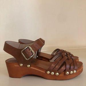 Brown Topshop Clogs